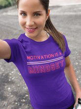 Load image into Gallery viewer, Motivation is Mindset Women's Softstyle Tee - BrandLove101