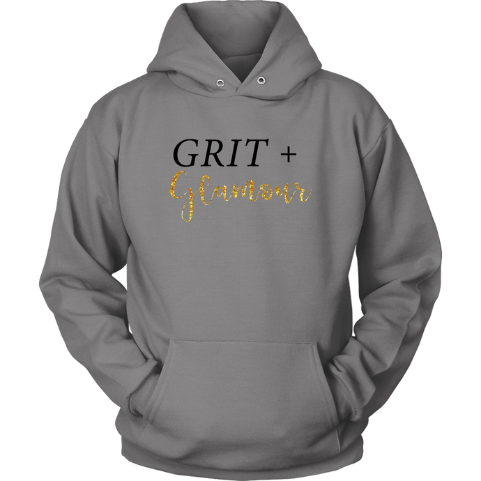 Grit and Glamour Hoodie - BrandLove101
