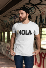 Load image into Gallery viewer, Nola New Orleans Fila Logo Inspired Unisex / Men's Cotton Crew Tee - BrandLove101