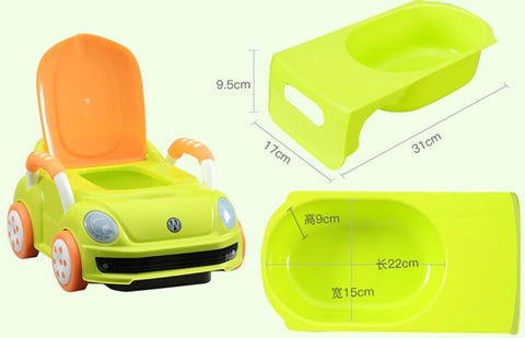 0-6 Years Old Unisex Kids Potty Trainer Toilet Travel