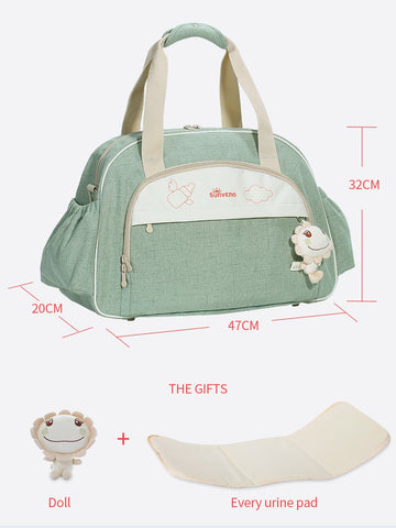 Maternity Diaper Bag Large Capacity Waterproof Travel Stroller