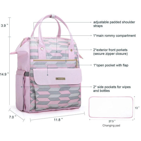 Maternity Diaper Bag Nappy Large Capacity Travel Nursing Care