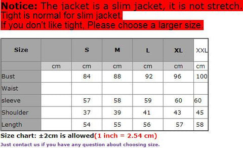 Women's Jacket Metal Lion Buttons Double Breated for Winter