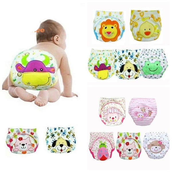 Baby's Diaper Covers 30pcs/lot Reusable Breathable Cotton Training