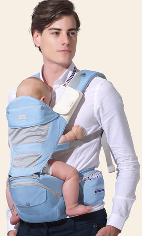 Baby Hipseat Prevent O-type Leg Aerospace Aluminium Core Ergonomic Backpack Save Effort Sling