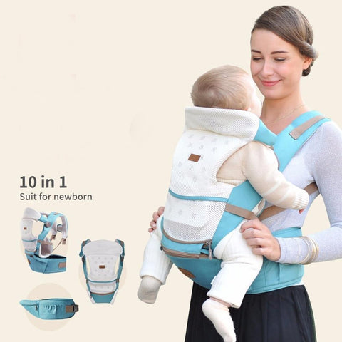 Baby Hipseat Prevent O-type Legs 6 in 1 Style Loading Bear 20Kg Ergonomic Sling