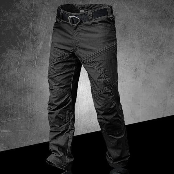 Men's Trousers Military Urban Combat Multi Pockets Casual Ripstop Fabric