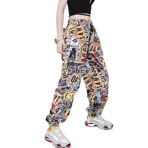Women's Trousers Printed Sport