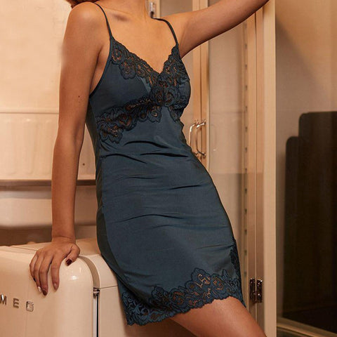 Women's Nightdress Sleepwear Lace Homewear