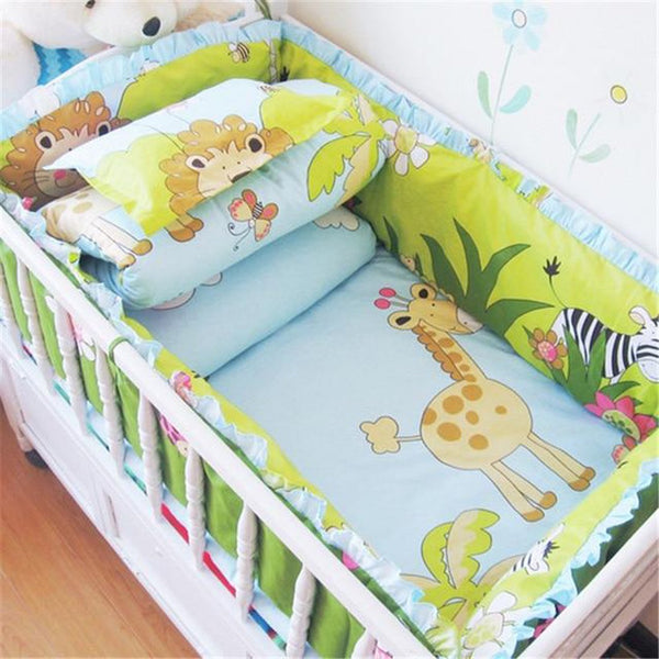 Baby's Crib Bumpers 6pcs/set Bed Around Cotton Thickening Cartoon