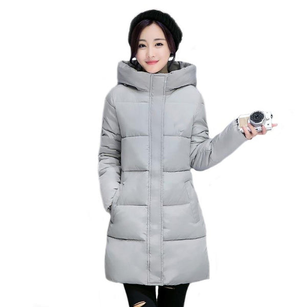 Women's Coat Long Thickening Outwear for Winter