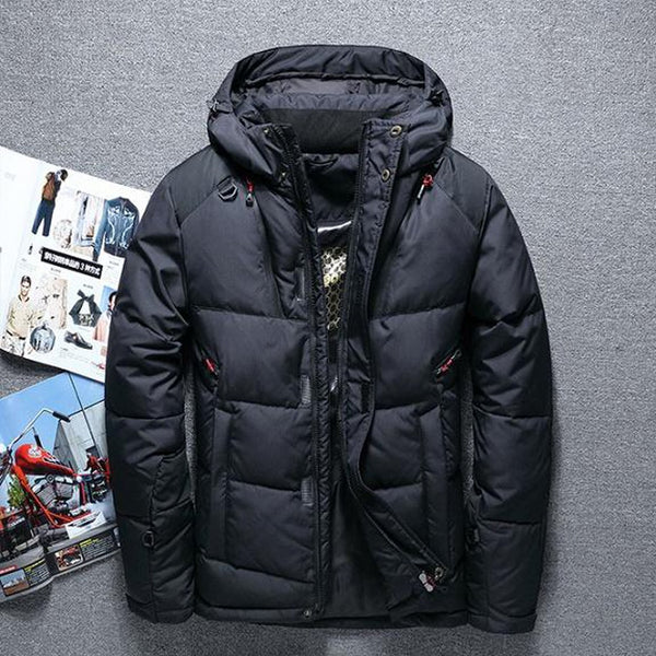 Men's Down Jacket Casual Thick Outwear for Winter