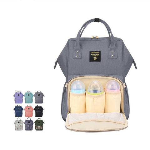 Maternity Diaper Bag Waterproof Large Nusing Nappy Travel Stroller Care