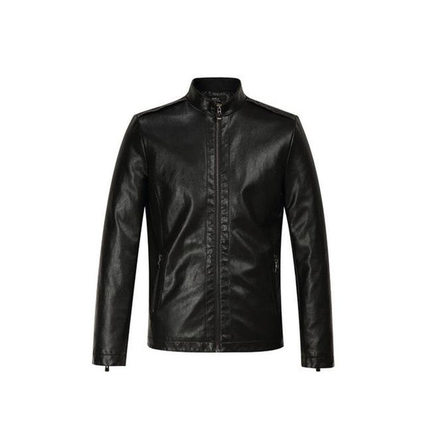 Men's Jacket PU Leather Plus Size Casual for Winter Autumn Motorcycle