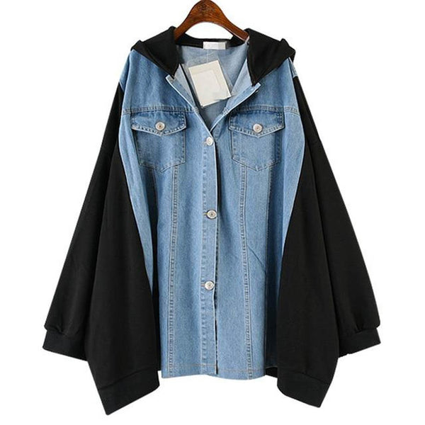 Women's Coat Long Sleeve Lapel Patchwork Pocket Single Breasted Casual Loose for Autumn Winter