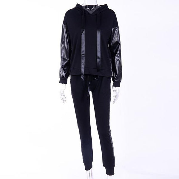 Women's Hoodie and pants Tracksuit 2pcs/set Casual Long Sleeve for Autumn