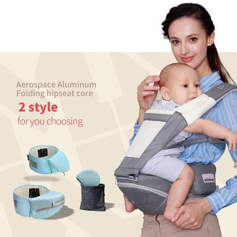 Baby Hipseat Multifunctional Foldable Sling Breathable Ergonomic Backpack