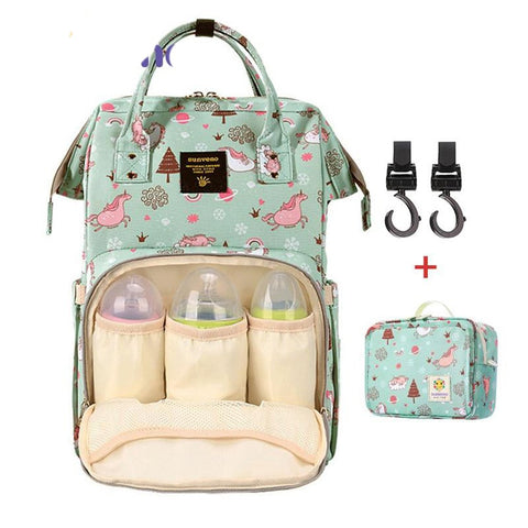 Maternity Diaper Bag Large Capacity Nappy Nursing Travel CAre