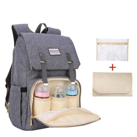 Diaper Bag Large Capacity Nappy Care