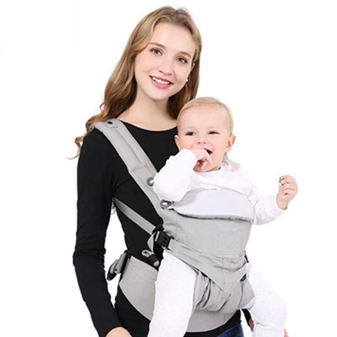 0-36 Months Baby Carrier Breathable Front Facing Sling Pouch Wrap