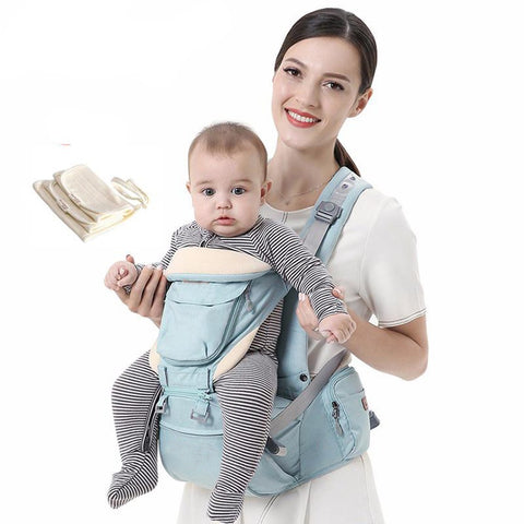 0-36 Months Baby Carrier Ergonomic Hipseat Front Facing Wrap Sling Travel