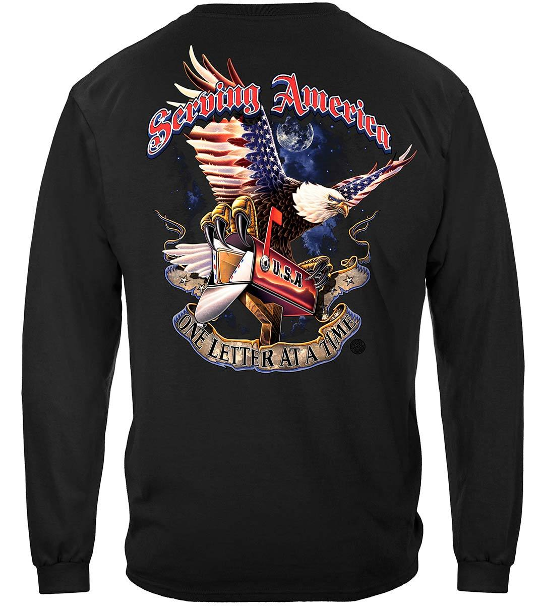 American Postal Worker Premium Long Sleeves