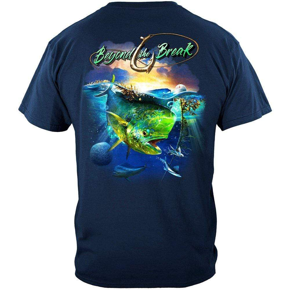 MAHI Dolphin Fish Beyond The Break Premium T-Shirt