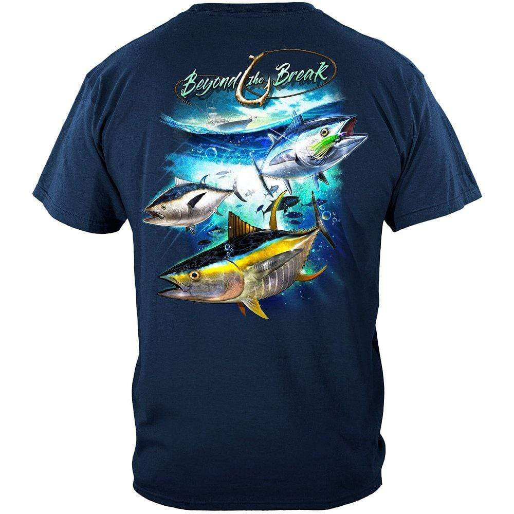 Tuna Time Off Shore Fishing Premium T-Shirt