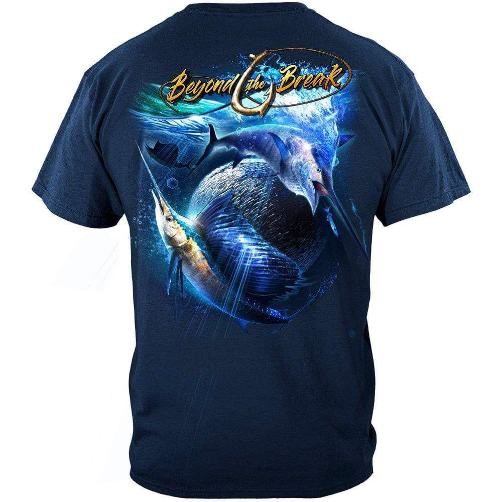 Sail Fish Baller Off Shore Fishing Premium T-Shirt
