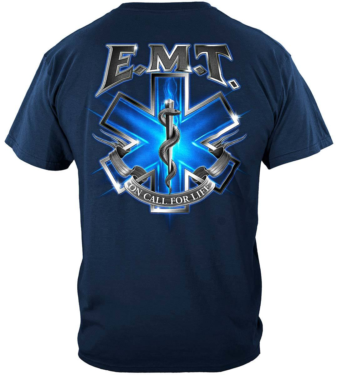 On Call For Life EMT Premium T-Shirt