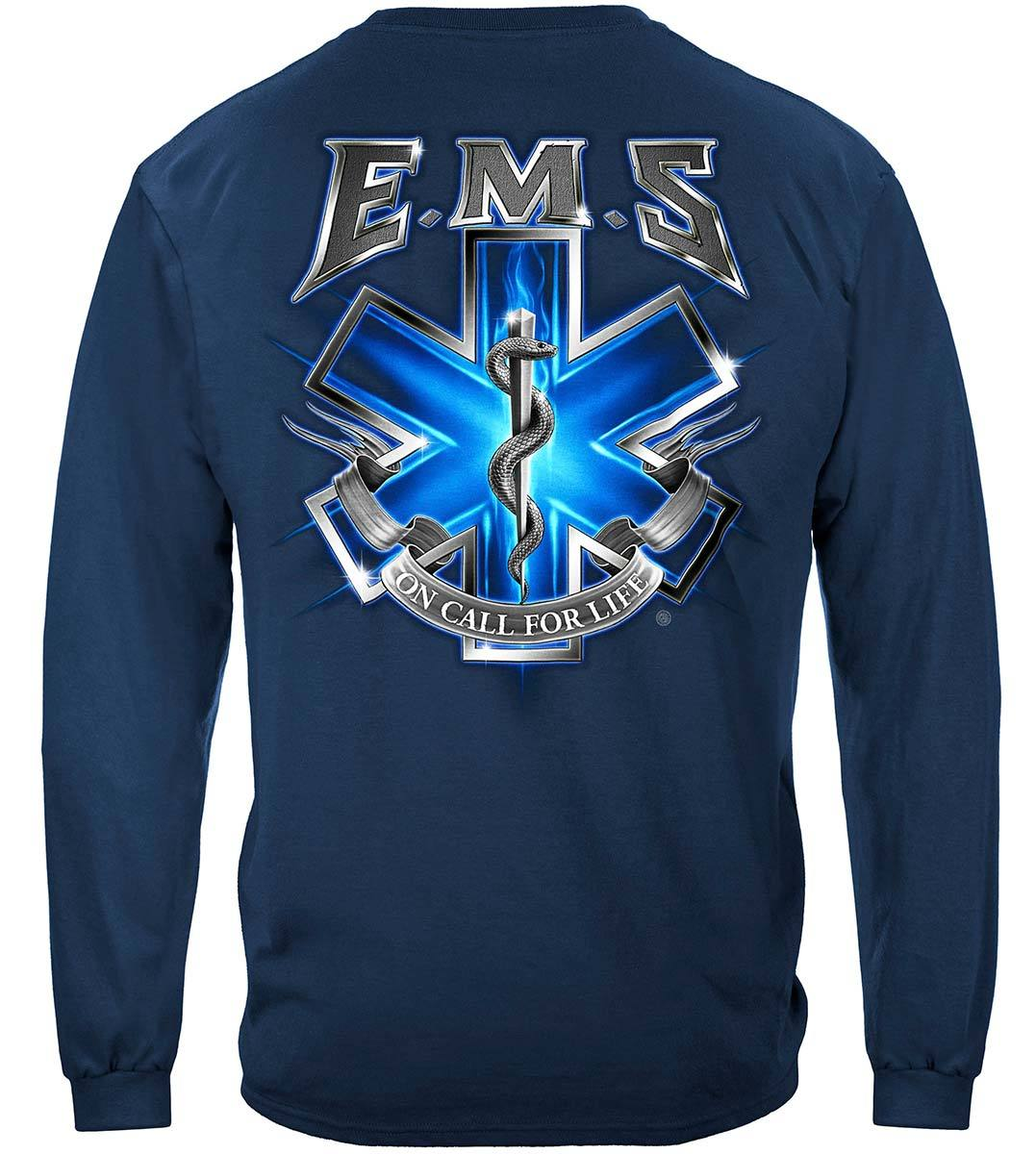 EMS On Call For Life EMS Premium Long Sleeves