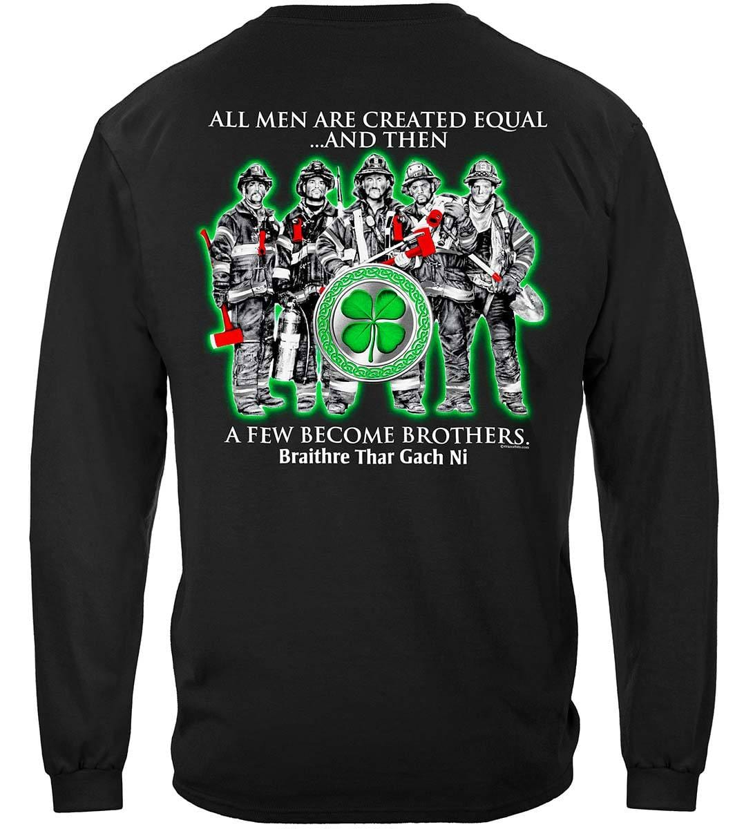 Irish Brotherhood firefighter Premium Hooded Sweat Shirt