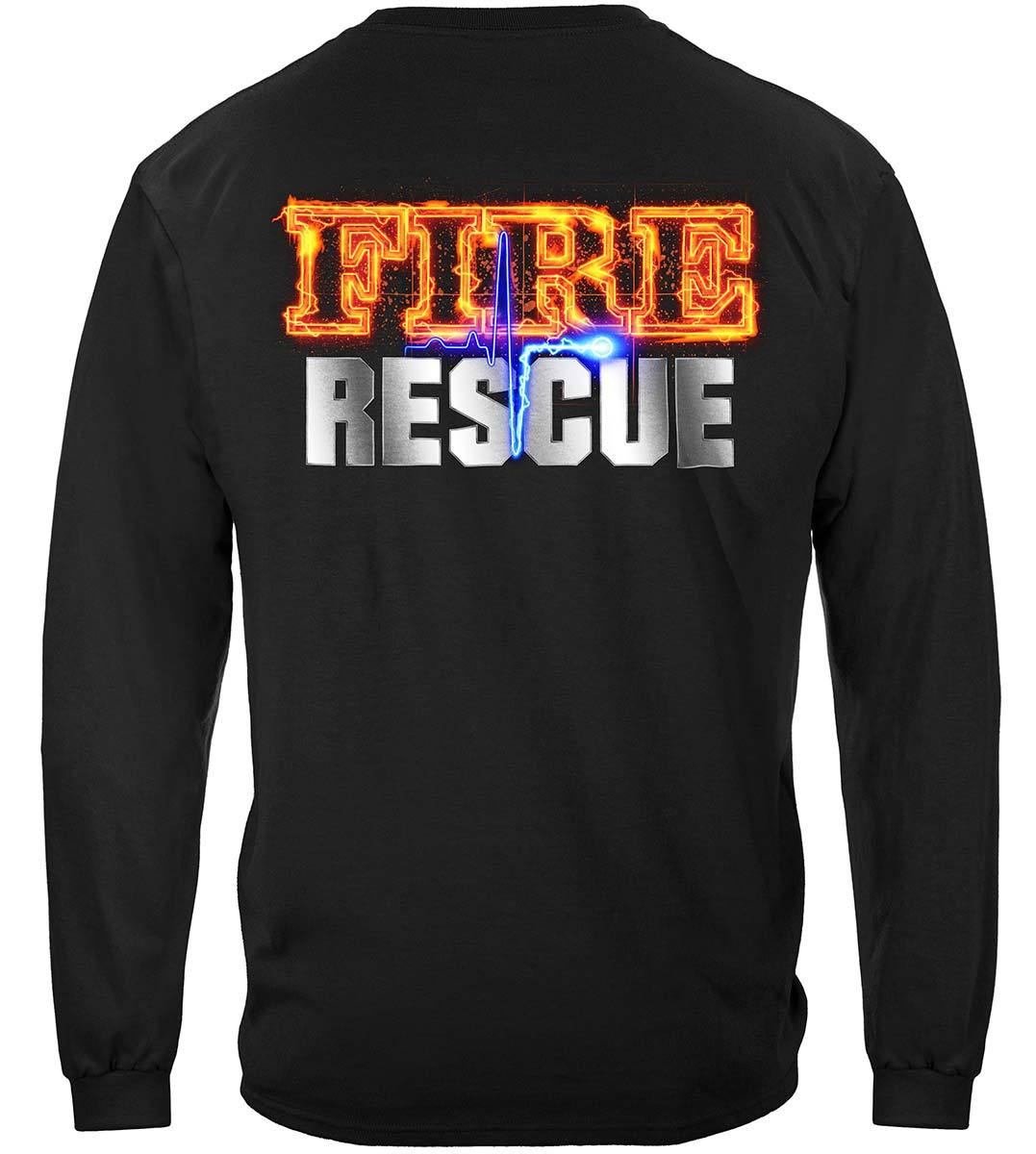 Fire Rescue full front Maltese Premium Long Sleeves