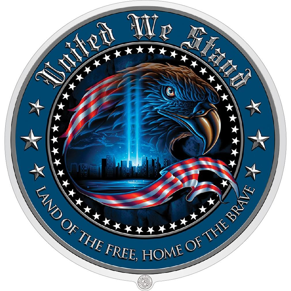 United We Stand Premium Reflective Decal
