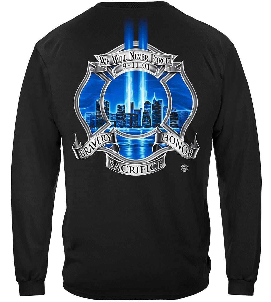 Tribute High Honor Firefighter Premium Long Sleeves