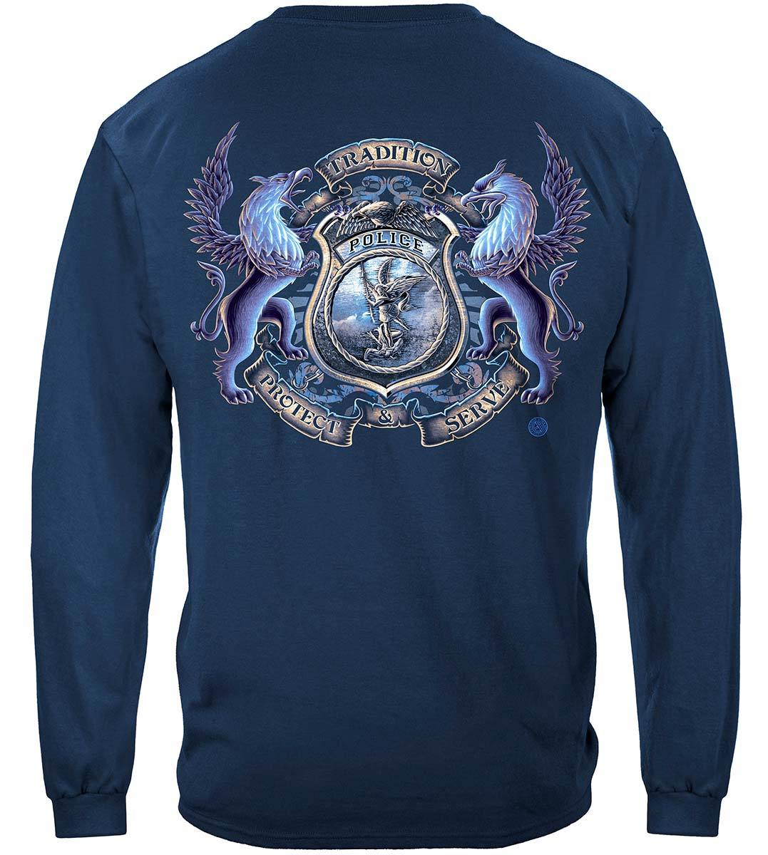 Police Coat of Arms Premium Long Sleeves