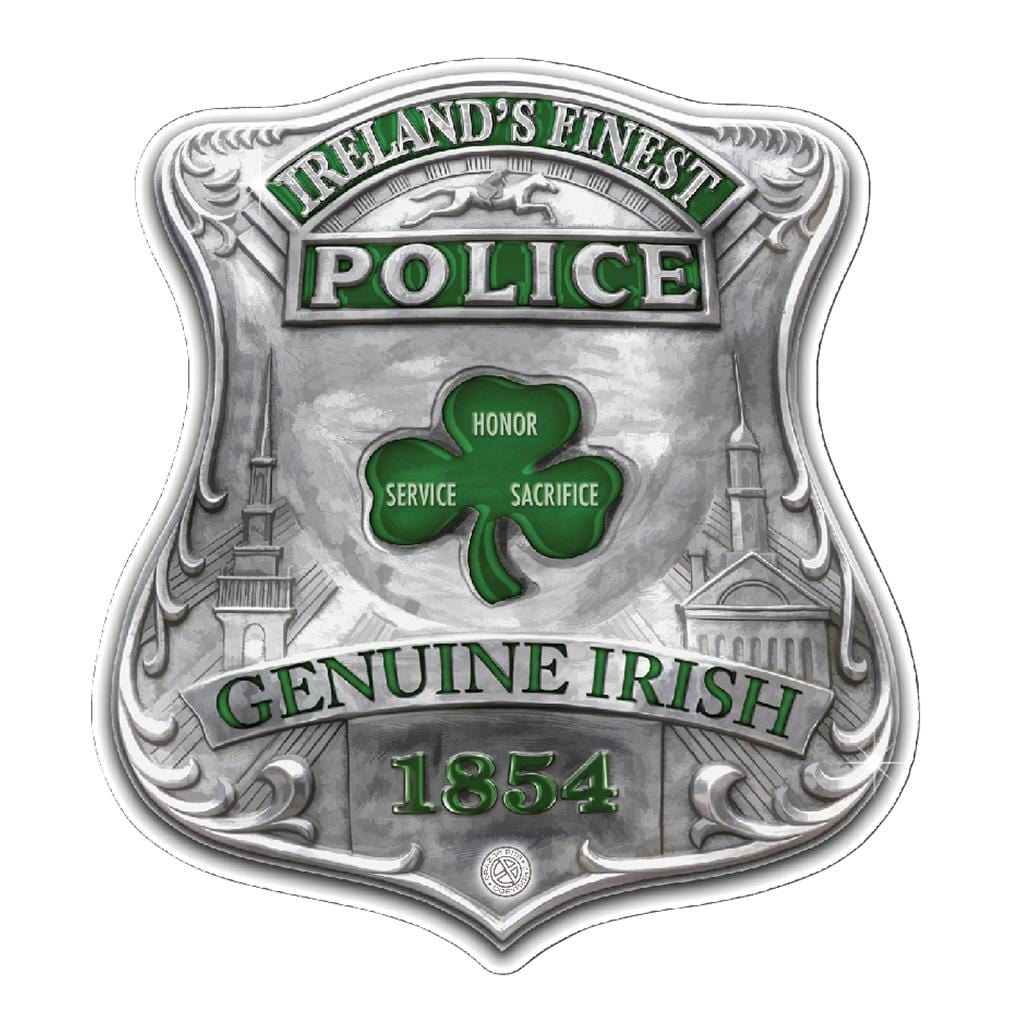 Garda Ireland Finest Premium Reflective Decal