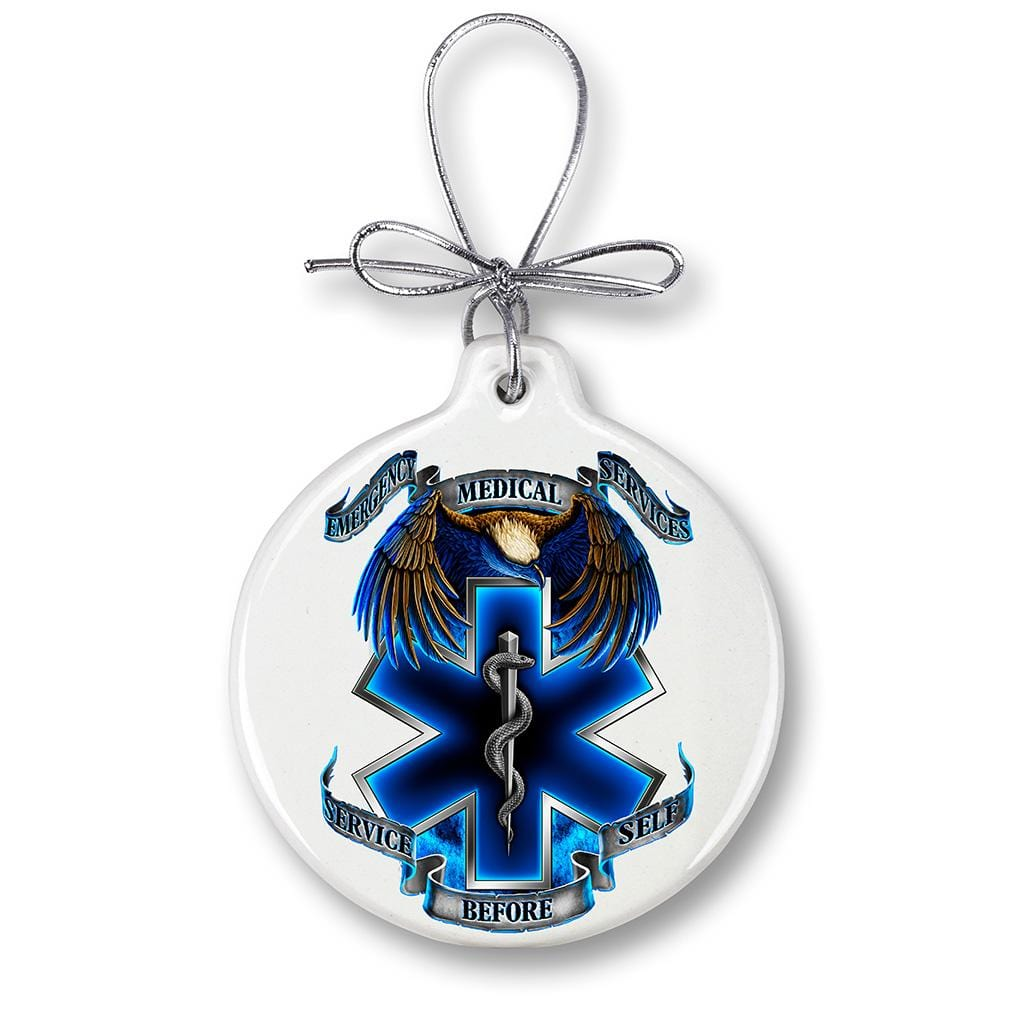 Heroes EMS Christmas Tree Ornaments