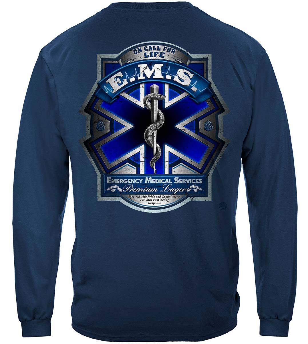 EMS Beer Label Premium Long Sleeves