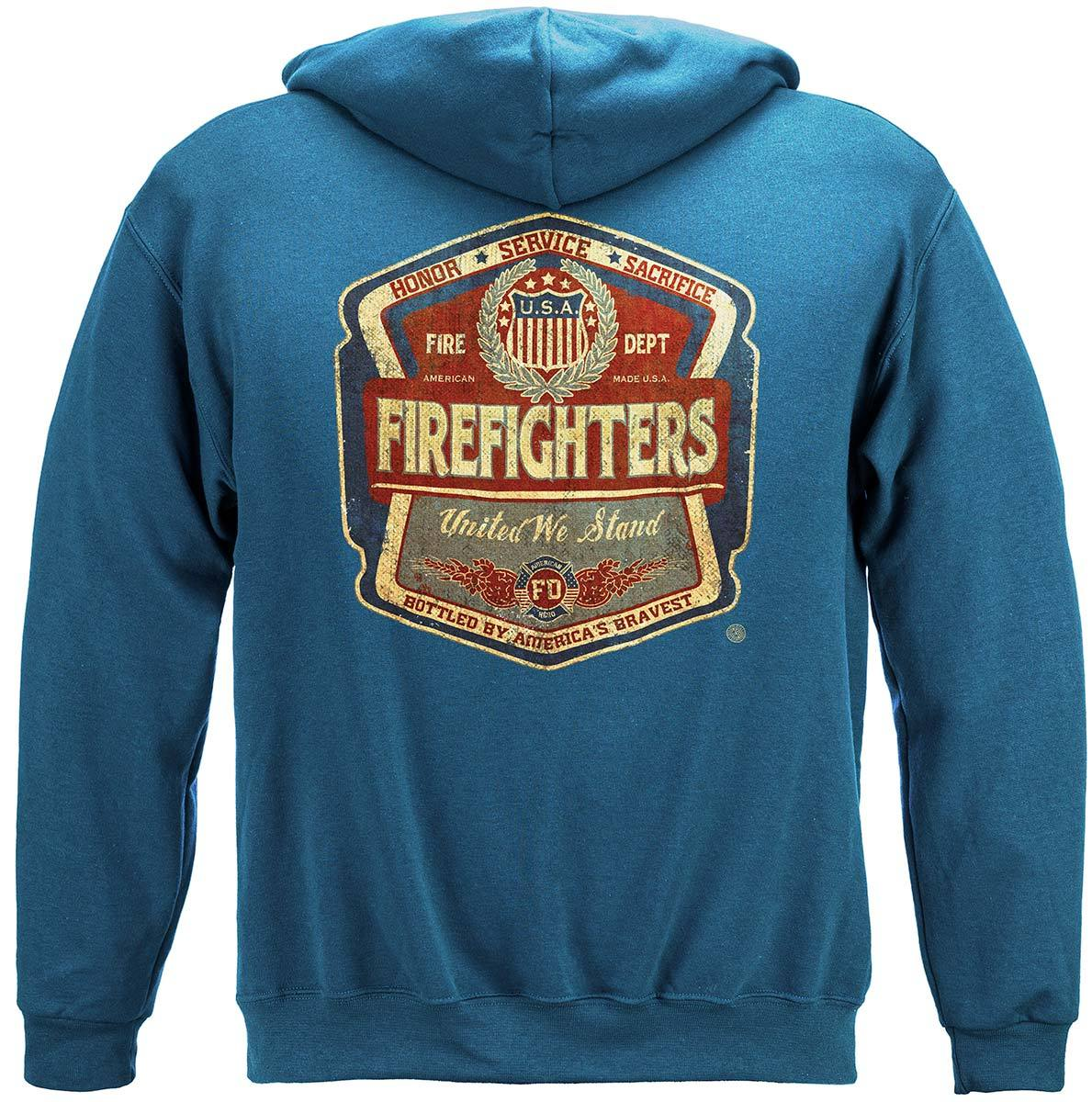 Firefighter Denim Fade Premium Long Sleeves