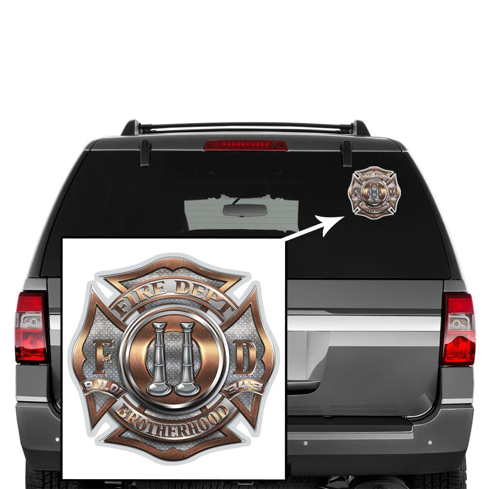 2  Bugle Ranking Premium Reflective Decal