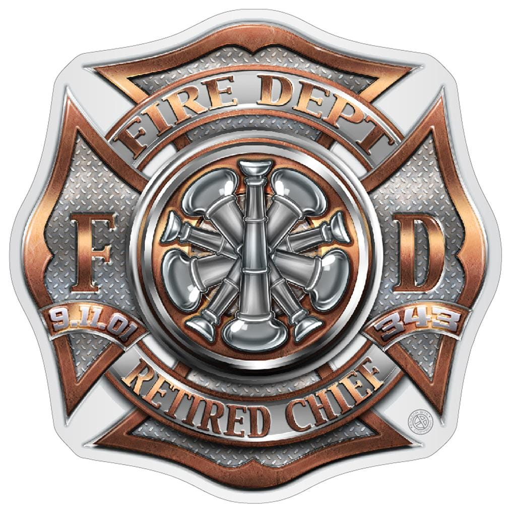 RETIRED Chief Premium Reflective Decal