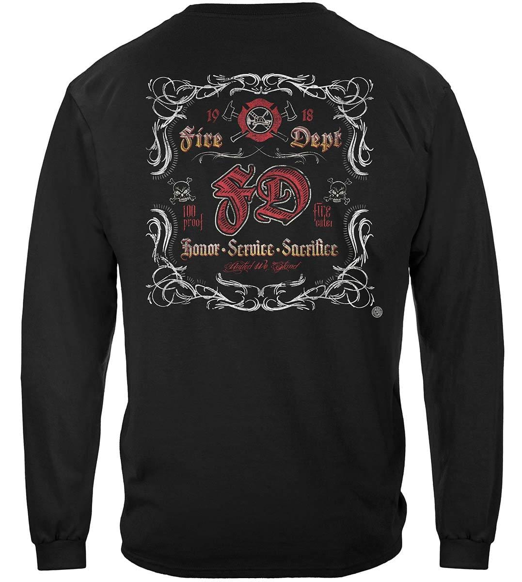 Fd Southern Scroll Work Premium Hooded Sweat Shirt
