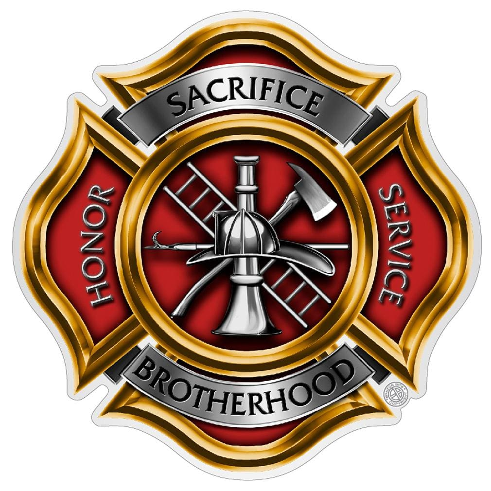 FIREFIGHTER PIKES Premium Reflective Decal