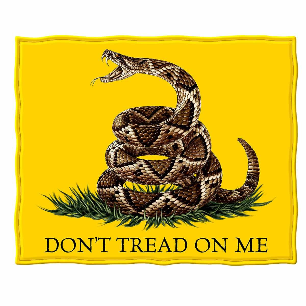 Don't Tread On Me Premium Blanket