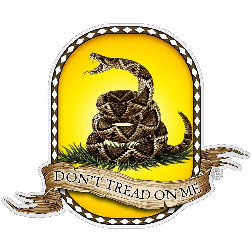 Don't Tread On Me Premium Reflective Decal