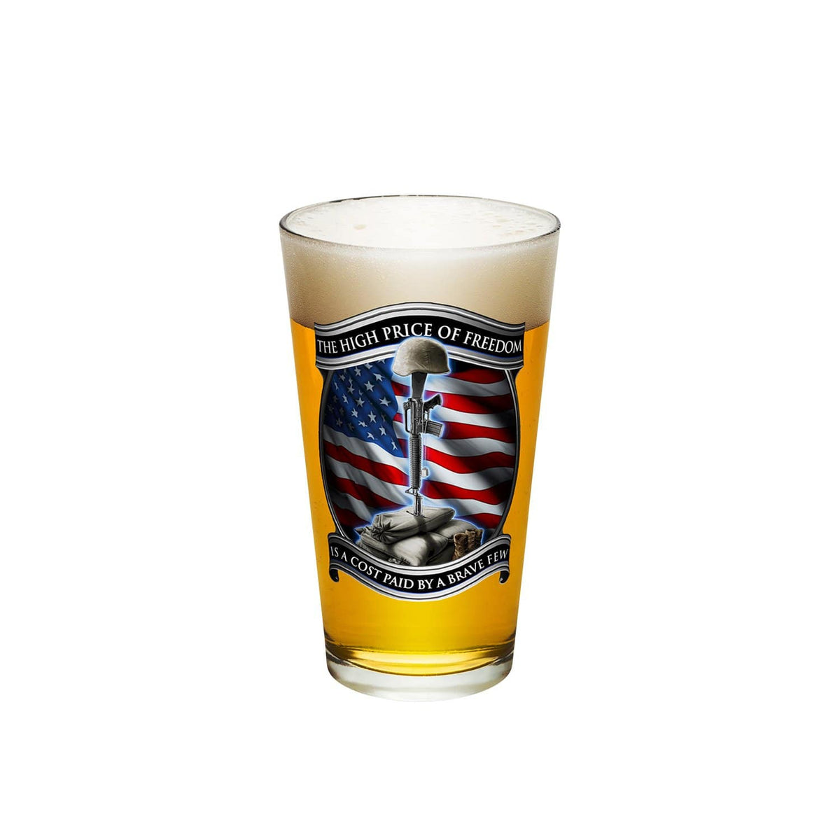 High Price Of Freedom Pint Glass