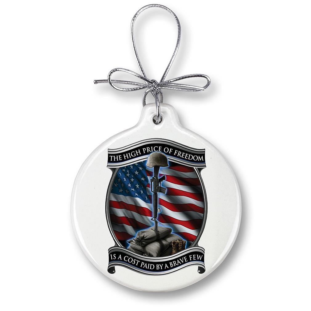 Soldiers Cross Christmas Tree Ornaments