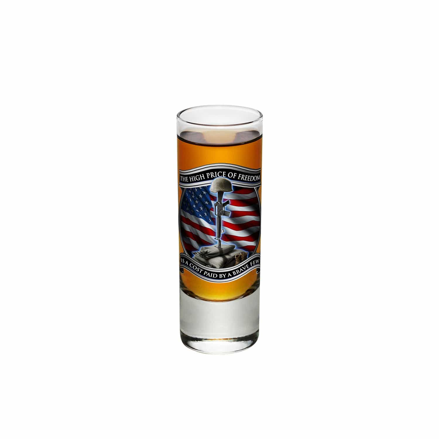 High Price Of Freedom Shooter Shot Glass