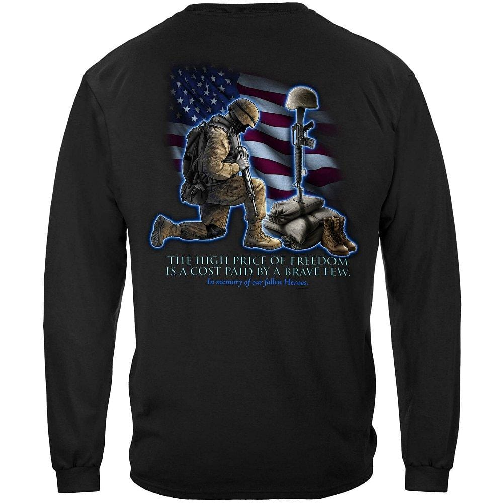 Soldiers Cross Premium Men's Long Sleeve